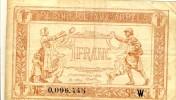 Frankreich, Tresorerie Avx Armees  --- 1 Franc Ohne Datum  (110) - Schatzamt
