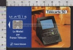 S2533 MAGIS MINITEL 7.95 50 UNITES TELECARTE - Francia