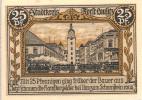 Noodgeld - Notgeld  STADT KREIS FORST LAUSITSS   25 Pfg 1921 - Billets