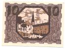 Noodgeld - Notgeld  STADT ULRICHSBERG  10 HELLER  1920 - Billets