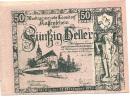 Noodgeld - Notgeld   LOOSDORF  50 Heller  1920 - Billets