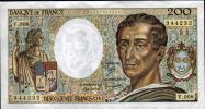 QUALITE NEUVE: 200F MONTESQUIEU  - 1981- V.008 - 1962-1997 ''Francs''