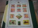 Guinée Equatoriale  Lot De 11 Pages - Sammlungen (im Alben)