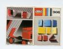 LEGO SYSTEM 1965/1970 Plan Notice 906  PORTES De CAMIONS Et LEVIERS  / Voir SCAN PHOTOS - Plans