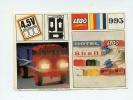LEGO SYSTEM 1965/1970 Plan Notice 995 BRANCHEMENTS MOTEUR ELECTRIQUE PHARES ENSEIGNES LUMINEUSES / Voir SCAN PHOTOS - Plans