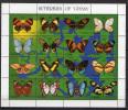 Guyana 1994 Butterflies Sheetlet MNH - Farfalle
