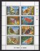 Mongolia 1992 Butterflies Sheetlet MNH - Farfalle