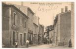 CHOMERAC RUE DE LA REPUBLIQUE QUARTIER DE LA POSTE    CP 5049 - Frankreich