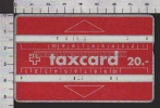S2597 TAXCARD PTT 20 - Svizzera