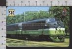 S2697 AMERICAN RAILWAYS NORTHERN PACIFIC TRENO TRAIN UNITEL PHONECARD PREPAID CARD - Treni