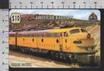 S2700 AMERICAN RAILWAYS UNION PACIFIC TRENO TRAIN UNITEL PHONECARD PREPAID CARD - Treni