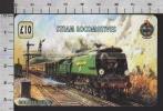 S2701 STEAM LOCOMOTIVES GOLDEN ARROW TRENO TRAIN UNITEL PHONECARD PREPAID CARD - Treni