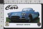 S2709 CHEVROLET CORVETTE CLASSIC CARS AUTO UNITEL PHONECARD PREPAID CARD - Voitures