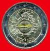 """2 Euros """"10 Ans Euro FIDUCIAIRE"""" Commémorative PAYS-BAS 2012, En UNC Neuves Sous Sachet - Niederlande"""
