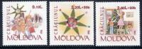 MOLDOVA 1996 Christmas  MNH / **.  Michel 222-24 - Moldova