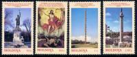 MOLDOVA 1998 Artistic Monuments MNH / **.  Michel 271-74 - Moldova