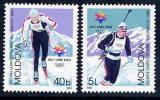 MOLDOVA 2002 Winter Olympic Games  MNH / **.  Michel  421-22 - Winter 2002: Salt Lake City