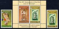 MOLDOVA 2005 50th Anniversary Of Europa Stamps MNH / **.  Michel 517-18 + Block 33 - Moldova