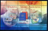 MOLDOVA 2005 Passport Anniversary MNH / **.  Michel Block 34 - Moldova