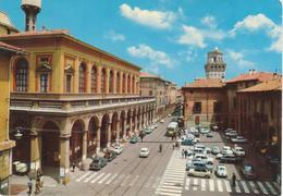 BOLOGNA Teatro Comunale E Torre Osservatorio Università - ANIMATA - AUTO D'EPOCA CARS VOITURES FIAT 850 500 600 - Bologna