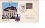 BRD:Ersttagsbrief Mi.Nr.424 Hauptst�tte und L�nder Bonn