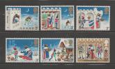 UNITED KINGDOM 1973 Mint Hinged Stamp(s) Christmas Serie Complete Nrs. 639-644 - 1952-.... (Elizabeth II)