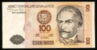 "100 Intis ""PEROU""   26 Juin1975       Usagé2 - Pérou"