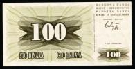 """100 Dinard    """"Bosnie-Herzegovine""""       1992     Usagé2 - Bosnie-Herzegovine"""