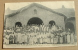 Afrique Centrale Nyasaland - Vicariat Apostolique Du Shiré - Groupe De Chrétiens De La Mission Nzama - Malawi