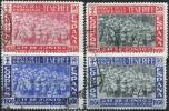 1938. Canarias, Monte Esperanza Ed 52-55 Serie Completa En Usado - Emisiones Nacionalistas