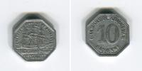 [A648] Monnaie De Nécessité : Bayonne : 10 Centimes 1920 Aluminium - Monetary / Of Necessity