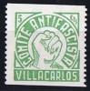 VILLACARLOS  Comite Antifacista  5 Cts ** - Republikanische Ausgaben