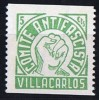 VILLACARLOS  Comite Antifacista  5 Cts ** - Republican Issues