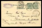 WÜRTTEMBERG - 1902 - MiNr.56a AUF 5pf GRÜN POSTKARTE AUS HEILBRONN NACH SELONGEY, FRANKREICH - Wuerttemberg