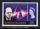 British Virgin Islands MNH Scott #166 25c Churchill Memorial Issue - Iles Vièrges Britanniques