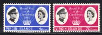 British Virgin Islands MNH Scott #167-#168 Royal Visit To The Caribbean - Iles Vièrges Britanniques