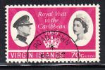 British Virgin Islands Used Scott #168 70c Royal Visit To The Caribbean - Iles Vièrges Britanniques