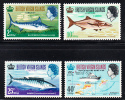 British Virgin Islands MNH Scott #186-#189 Game Fishing - Iles Vièrges Britanniques