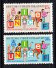 British Virgin Islands MNH Scott #233-#234 UNICEF's 25th Anniversary - Iles Vièrges Britanniques