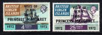 British Virgin Islands MNH Scott #235-#236 Visit Of Princess Margaret - Iles Vièrges Britanniques