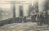 75 PARIS FUNERAILLES NATIONALES DE M. BERTHELOT LE PRESIDENT DE LA REPUBLIQUE ASSISTE AU DEFILE - Funérailles