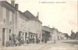 CAPTIEUX   ROUTE DE BAZAS  1904 - Non Classés