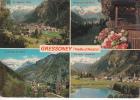 GRESSONEY - QUADRI - SCRITTA NEL 1982 - Aosta