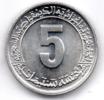 ALGERIA 5 CENTIMES 1977 - Algeria