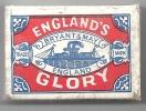 Grande Bretagne, Gloire, Navire, Vapeur, Classe Ouverte - Boite Allumettes  Voir Scan, Utilisée, Vide (AL 220) - Bateaux