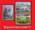 BL146/148** (1787/1789) Animaux D´Afrique / Dieren Uit Afrika - CONGO - Nuevos