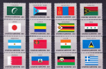 UNITED STATES ( U N  New  York )  , 1987 , Flags , Y&T  492/07 , Cv 25,60 E , ** MNH , V V F - New York - Sede Centrale Delle NU
