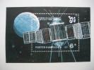 KAMPUCHEA  1987    SPACE  EXPLORATION   MINIATURE SHEET - Kampuchea