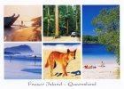Fraser Island Multiview, Queensland, Banksia Images Q413 Unused 17 X 12 Cm - Other