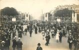LES FETES DE LA VICTOIRE 14 JUILLET 1919 LE ROND POINT DES CHAMPS ELYSEES - Patrióticos